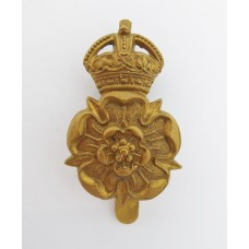 Yorkshire Dragoons Cap Badge - King's Crown
