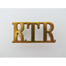 Royal Tank Regiment (R.T.R.) Shoulder Title