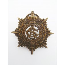Army Service Corps Officer's Service Dress Cap Badge - King's Cro