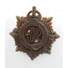 Royal Army Service Corps WW2 Plastic Economy Cap Badge