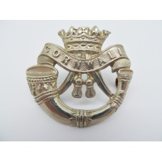 Edwardian Duke of Cornwall's Light Infantry Cap Badge