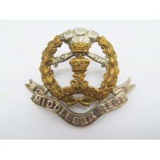 Edwardian Middlesex Regiment Cap Badge