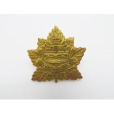 Canadian Infantry 31st Alberta Overseas Bn. Collar Badge