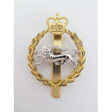 The King's Own Border Regiment Anodised (Staybrite) Cap Badge