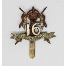 16th Queen's Lancers Pagri Badge - King's Crown