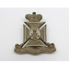 Wiltshire Regiment WW2 Plastic Economy Cap Badge