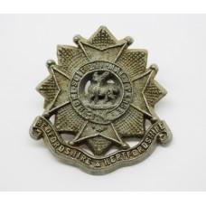 Bedfordshire & Hertfordshire Regiment WW2 Plastic Economy Cap