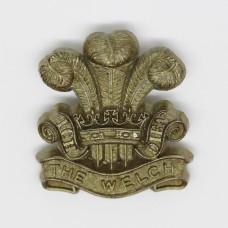 Welch Regiment WW2 Plastic Economy Cap Badge