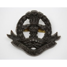 Middlesex Regiment WW2 Plastic Economy Cap Badge