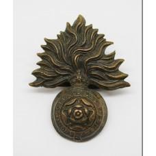 Royal Fusiliers (City of London Regiment) Officer's Service Dress Cap Badge - King's Crown