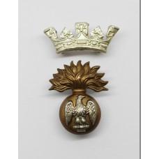 Victorian / Edwardian Royal Irish Fusiliers Officer's Cap Badge