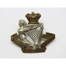 Victorian 8th King's Royal Irish Hussars Cap Badge