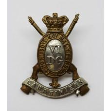 Victorian 6th Dragoon Guards (Carabiniers) Cap Badge