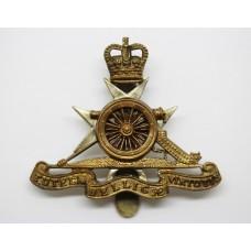 Royal Malta Artillery Beret Badge - Queen's Crown