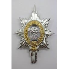 Worcestershire Regiment Anodised (Staybrite) Cap Badge