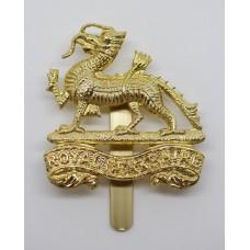 Royal Berkshire Regiment Anodised (Staybrite) Cap Badge