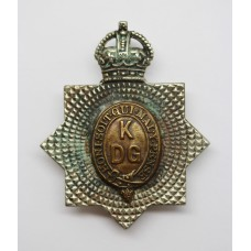 King's Dragoon Guards Cap Badge - King's Crown