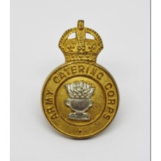 Army Catering Corps Officer's Dress Collar Badge - King's Crown