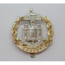 Dorset Regiment Anodised (Staybrite) Cap Badge