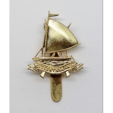 Gilbert Islands Defence Force Anodised (Staybrite) Cap Badge