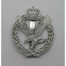 Army Air Corps Anodised (Staybrite) Cap Badge - Queen's Crown