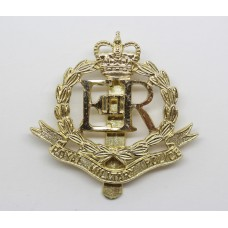 ERII Royal Military Police Anodised (Staybrite) Cap Badge