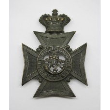 Victorian 2nd Surrey Rifle Volunteers Helmet Plate