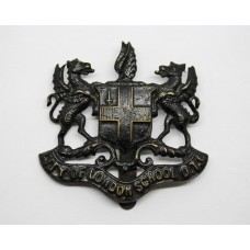 City of London School O.T.C. Cap Badge