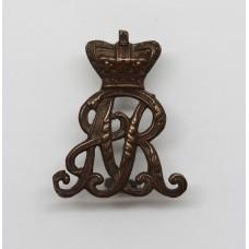 Victorian Oxfordshire Hussars Collar Badge
