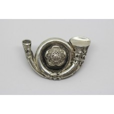 King's Own Yorkshire Light Infantry (K.O.Y.L.I.) Officer's Collar Badge