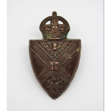 Edinburgh University O.T.C. Collar Badge
