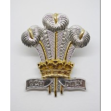Royal Regiment of Wales Anodised (Staybrite) Cap Badge