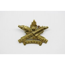 Canadian Machine Gun Corps Collar Badge