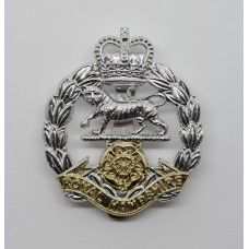 Royal Hampshire Regiment Anodised (Staybrite) Cap Badge