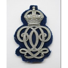 7th Queen's Own Hussars NCO's Arm Badge - King's Crown
