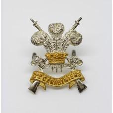 3rd Carabiniers Officer's Dress Cap Badge