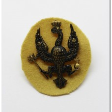 14th / 20th Hussars Officer's Dress Cap Badge