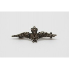 Small Royal Air Force (R.A.F.) Sterling Silver Sweetheart Brooch