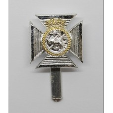 Duke of Edinburgh Regiment Anodised (Staybrite) Cap Badge