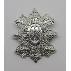 Glasgow Highlanders Highland Light Infantry Anodised (Staybrite) Cap Badge