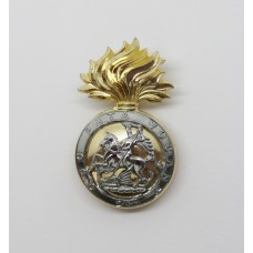 Royal Northumberland Fusiliers Anodised (Staybrite) Cap Badge