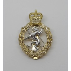 Women's Royal Army Corps (W.R.A.C.) Anodised (Staybrite) Cap Badge - Queen's Crown