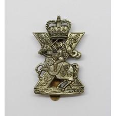 Highland Yeomanry Cap Badge - Queen's Crown