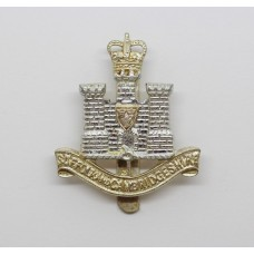 Suffolk and Cambridgeshire Regiment Anodised (Staybrite) Cap Badge