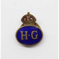 WW2 Home Guard (H.G.) Enamelled Lapel Badge