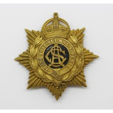 Army Service Corps (A.S.C.) Officer's Pouch Badge - King's Crown