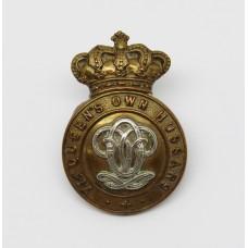 Victorian 7th Queen's Own Hussars Cap Badge