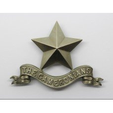 Cameronians (Scottish Rifles) Pipers Cap Badge