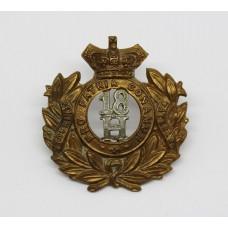 Victorian 18th Hussars Cap Badge