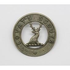 Lovat Scouts (Yeomanry) Cap Badge
